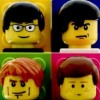 Blur из lego