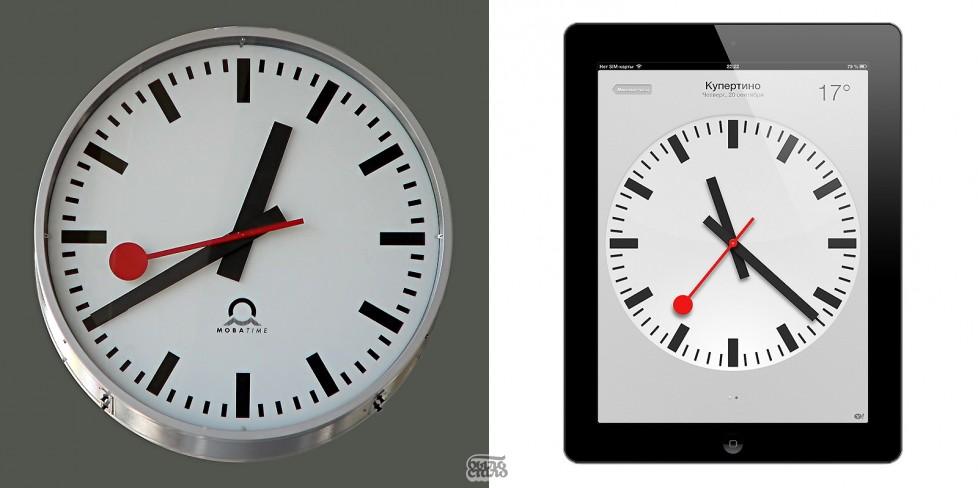Apple и Швейцарские Железные Дороги