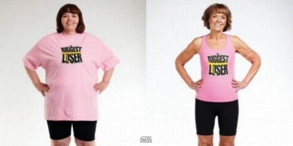 Женщина, которая смогла похудеть