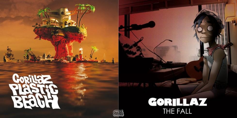 Gorillaz The Fall - новый альбом