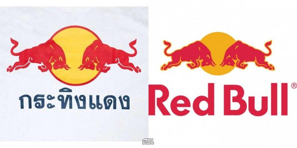 Оригинальный логотип Red Bull