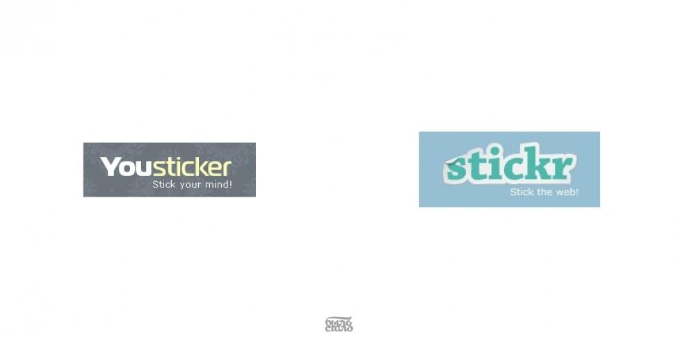 из Yousticker в Stickr