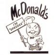 Самый первый логотип Макдональдс
