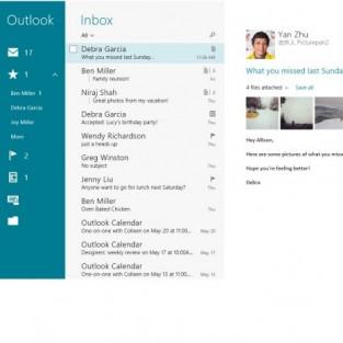 Новый дизайн почты в Windows 10