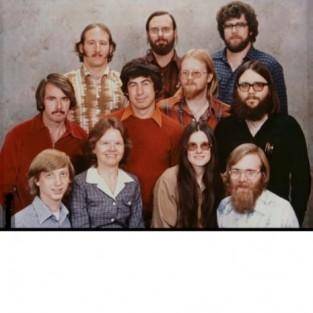 Первый коллектив Microsoft