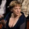 Ангела Меркель в откровенном платье