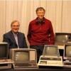 Билл Гейтс и Пол Аллен в 1981 году и сегодня