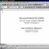Microsoft Word 1995-2010