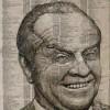 Портрет Джека Николсона из телефонной книги