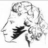 Пушкин автопортрет