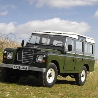 Land Rover и его большой брат