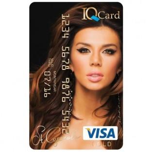Анна Седокова теперь в виде пластиковой карточки